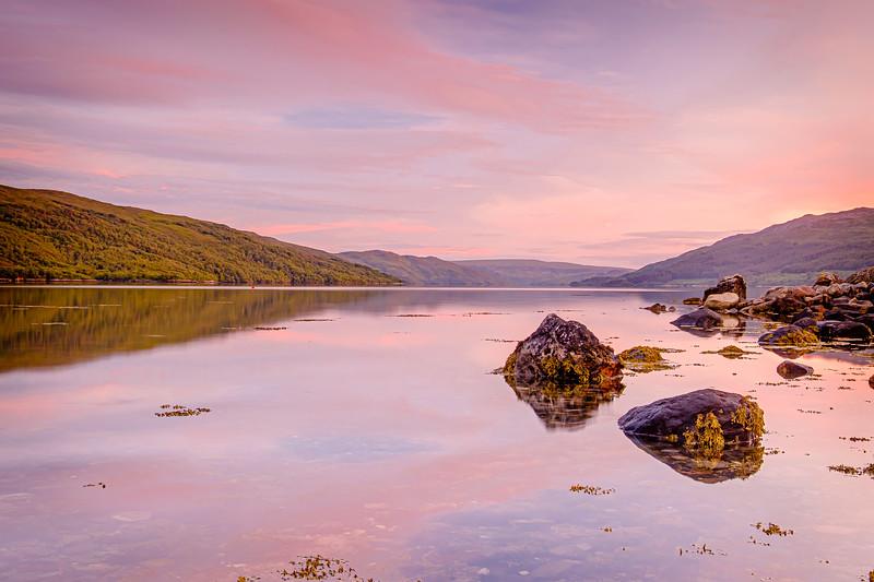 Sunart Summer Solstice Sunset II - Loch Sunart, Resipole, Sunart