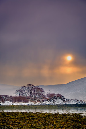 After the Snow - Rubha nam Feannag, Ardery, Sunart