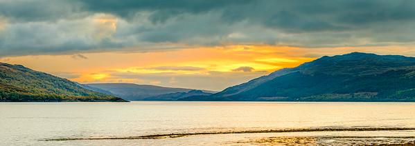 Towards Carna - Loch Sunart, Resipole Farm Holiday Park, Resipole, Sunart