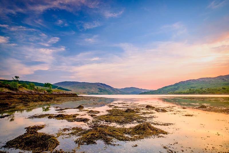 Tranquil Times II - Ardnastang Beach, Strontian, Sunart