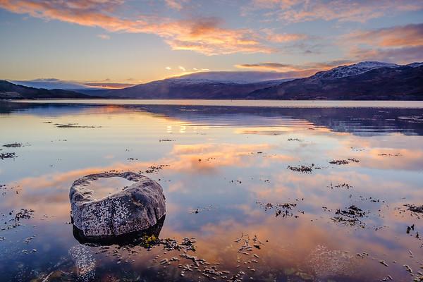 Welcome 2021 I - Loch Sunart, Resipole, Sunart