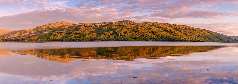 Sunart Summer Solstice Sunset I - Loch Sunart, Resipole, Sunart