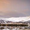 Snowy Island - Eilean an t-Sionnaich and Glen Laudale from Ardery, Sunart