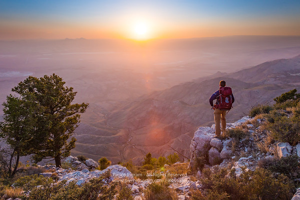 Photo series from backpacking trip; Guadalupe Mountains National Park
