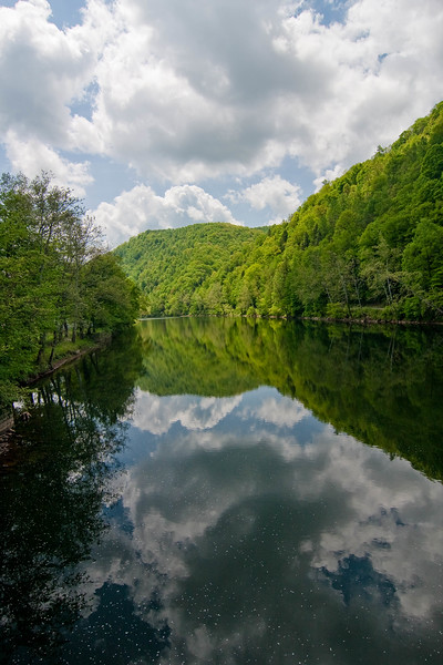 Cheat River Reflection V1