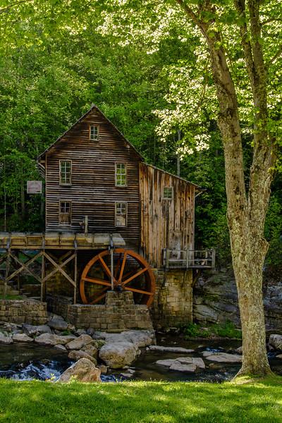 Glade Creek Grist Mill 4472