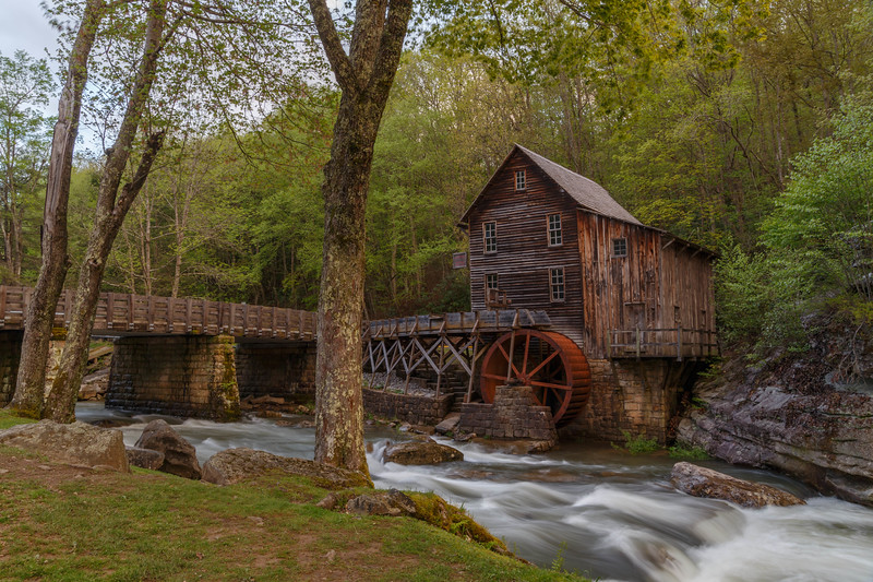 Glade Creek Grist Mill 5764O