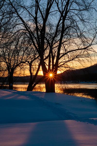 Ohio River Sunset 9528