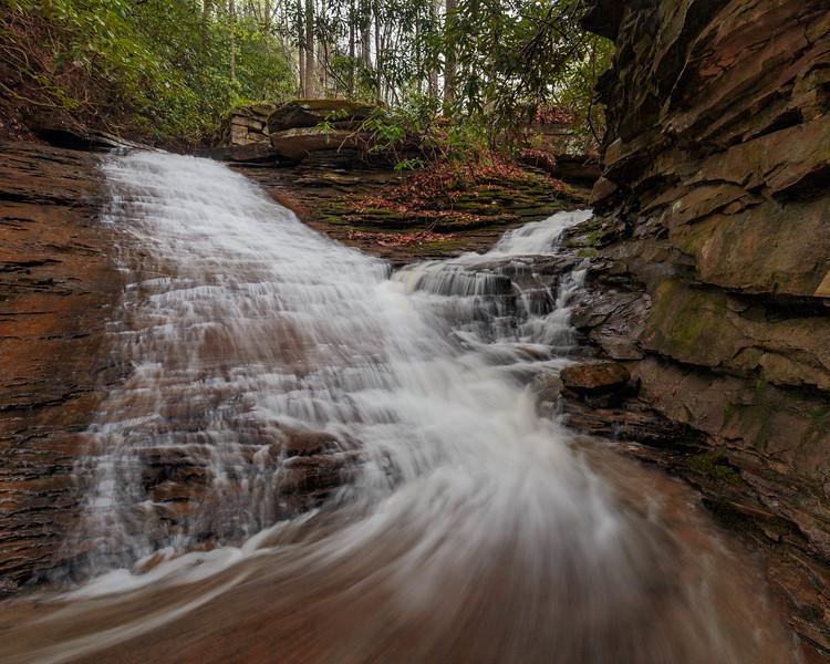 Lower Nuzum Falls 3905