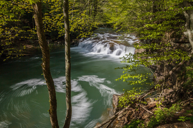 Glade Creek Falls 97