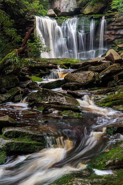 Elakala Falls 7865 BW