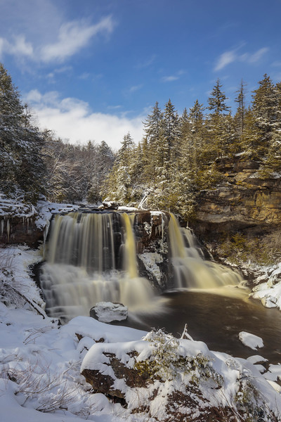 Blackwater Falls Winter 7820
