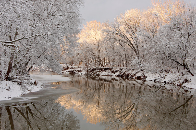 Middle Island Creek Winter 124