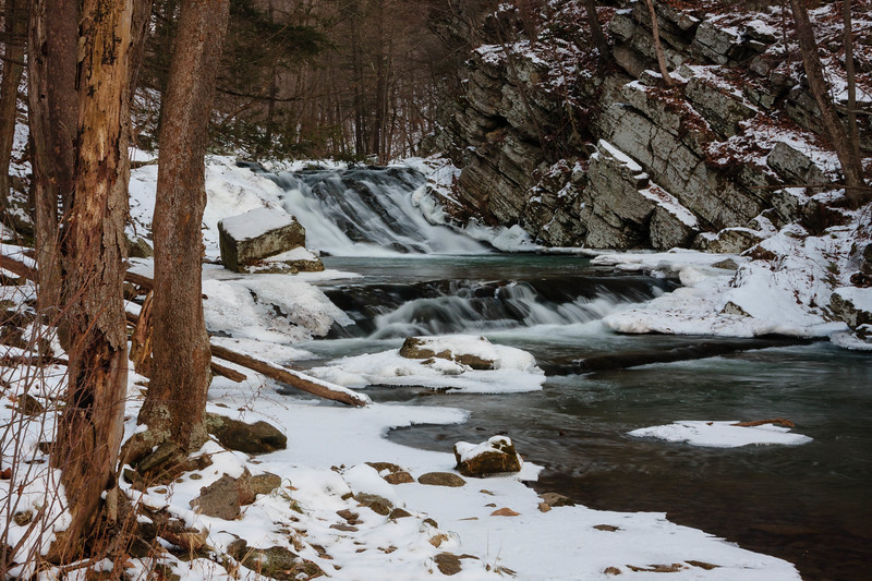Falls Gap Falls Winter 01