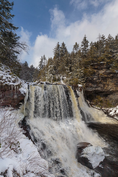 Blackwater Falls Winter 7826