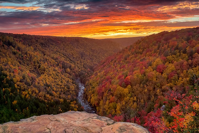 Blackwater Canyon Sunset 8351-52 L4
