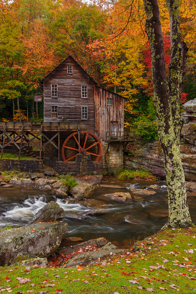 Glade Creek Grist Mill 0904