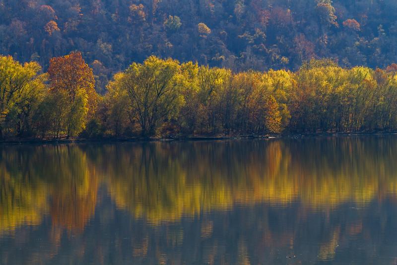 Ohio River Reflection 9461
