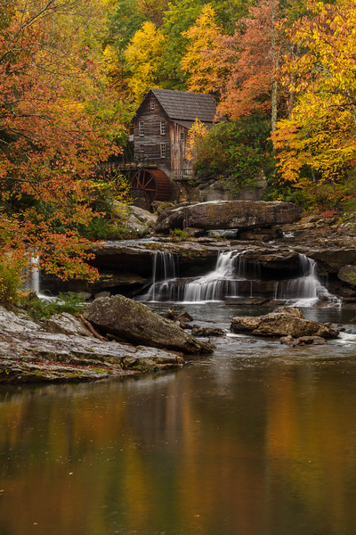 Glade Creek Grist Mill 7951