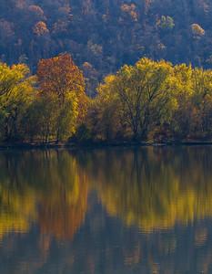 Ohio River Reflection 9461V