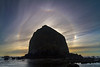 Cannon Beach Haystack Rock Halo 14