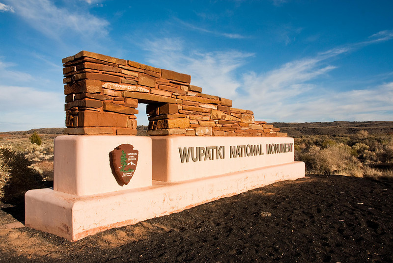 My first stop on this trip was Wupatki National Monument.