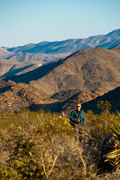 My brother Ken from Indiana accompanied me on this five-day trip to Joshua Tree National Park.