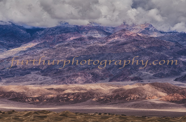 Colors of Death Valley