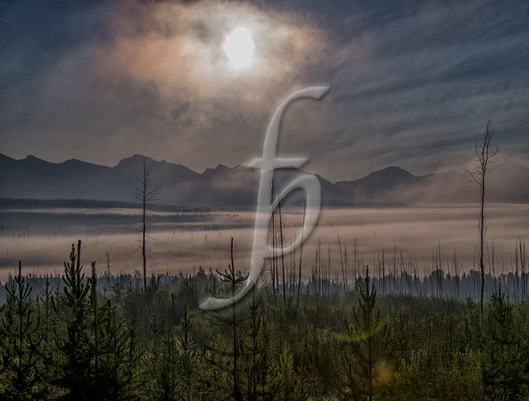 Sunrise Over McDonald Lake