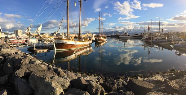 Husavik Harbour - Northern Iceland