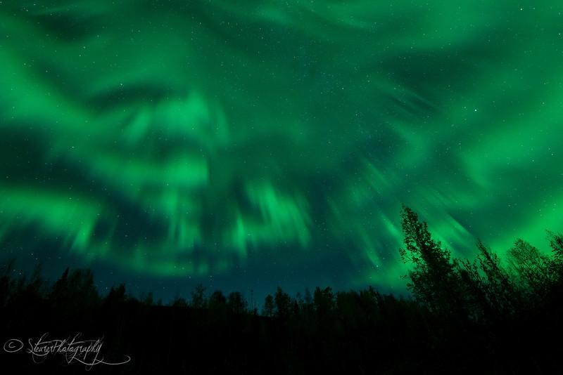 The Crown - Aurora Borealis, Fairbanks, AK 2012