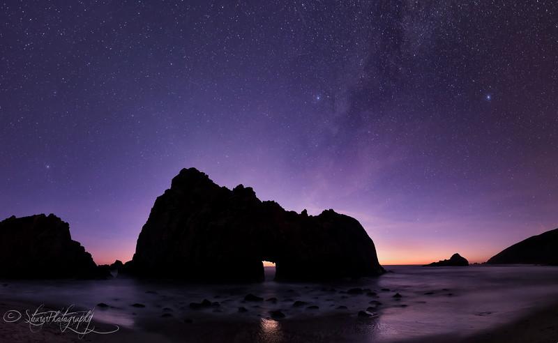 Connection - Pfeiffer Beach, Big Sur, CA