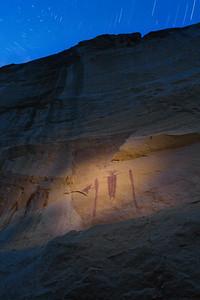 Petroglyph, Star Trails