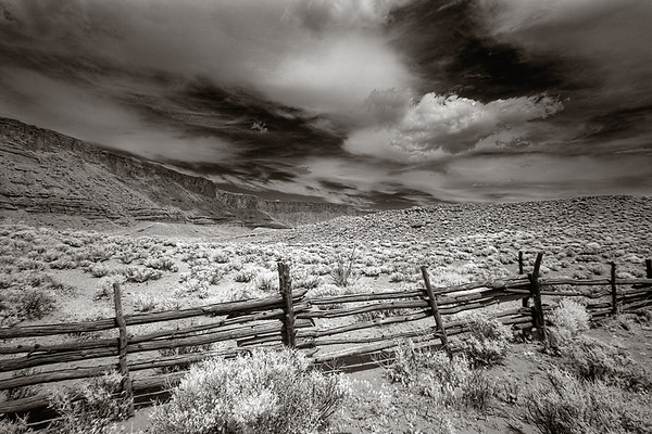 Near Moab, in Infrared