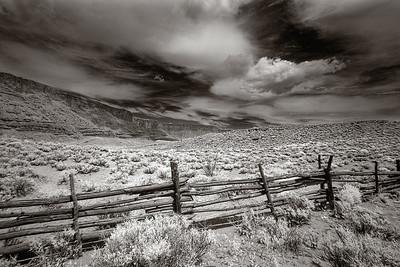 Near Moab, in Infrared