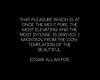 Poe statement