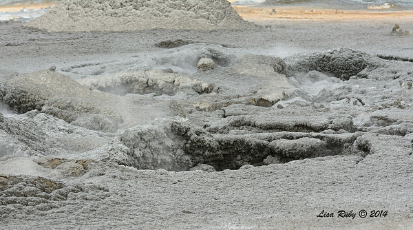 Surreal looking Mudpots - 7/27/2014 - Salton Sea area, Imperial Valley