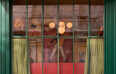 Cafe Window, Paris, 2011