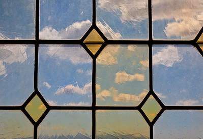 Window and Clouds, Provence, France, 2010