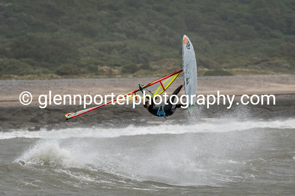 Windsurfing Newton 10th Aug 19