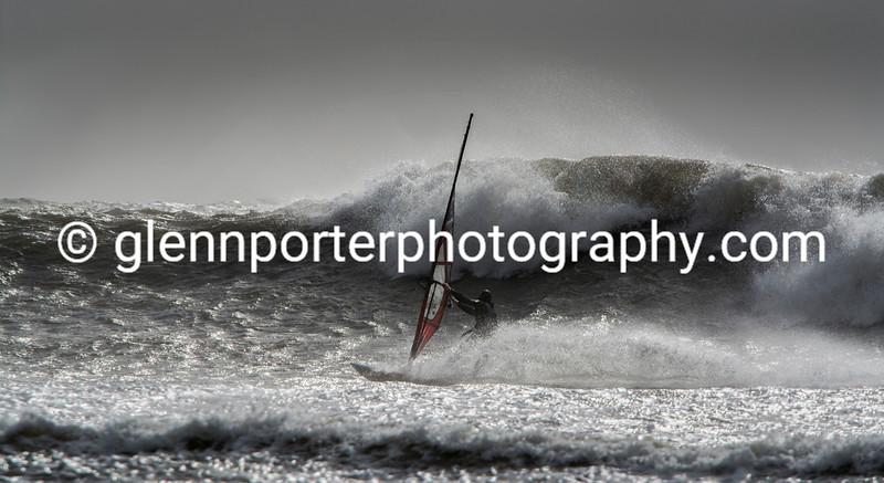 Storm Doris - Bottom turn.
