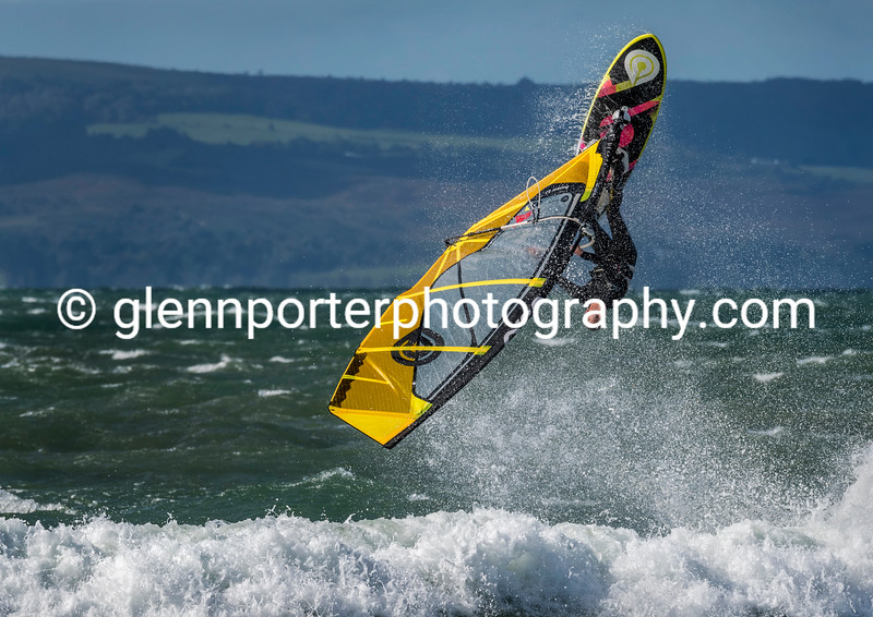 BWA windsurfing competition, Southbourne Beach.