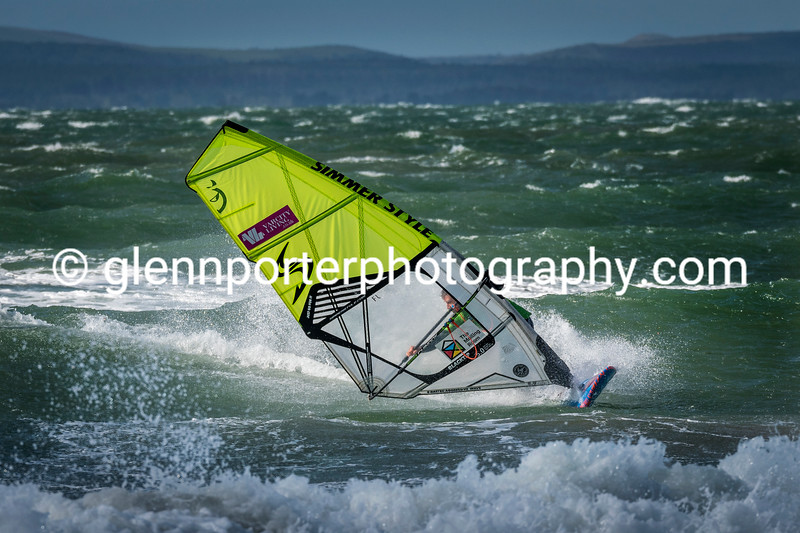 BWA windsurfing competition, Southbourne.