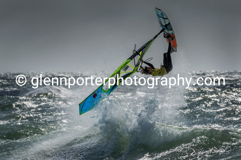 Back loop. BWA windsurfing.