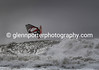 Storm Doris - Jumping off the lip of the wave.