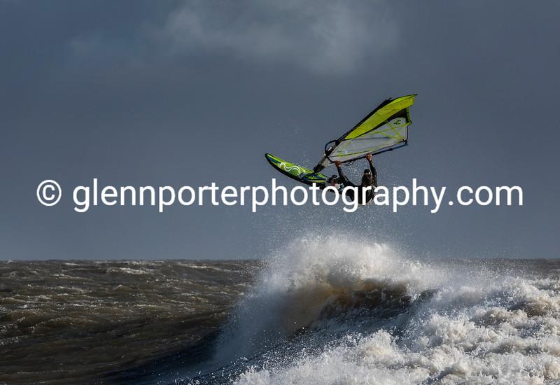 Jumping - Storm Brian.