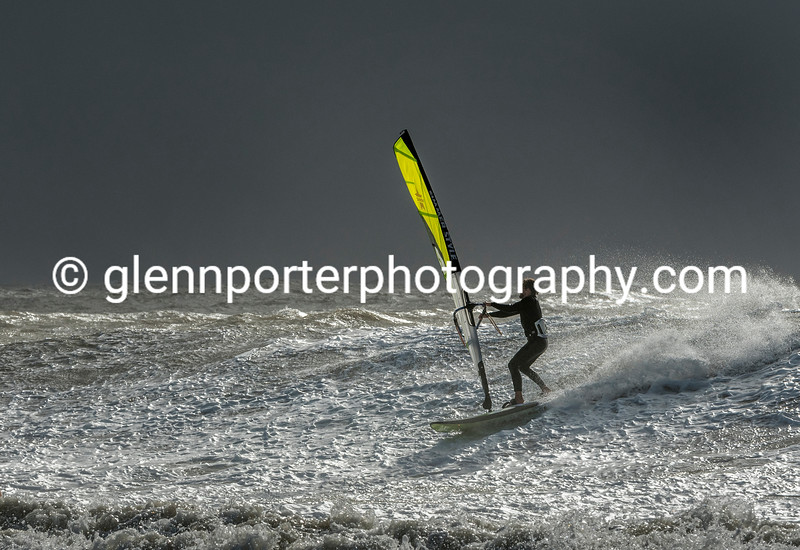 White water - Storm Brian.