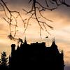 Hotel Fort Garry During Winter Twilight