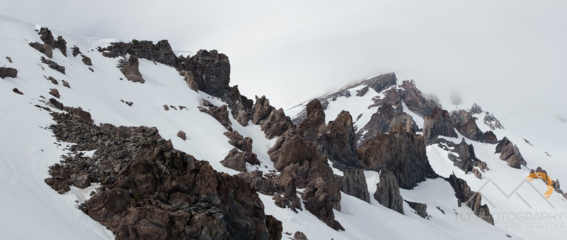 The rugged Casaval Ridge on Mt. Shasta we planned to climb the following morning. Please Follow Me! https://tlt-photography.smugmug.com/