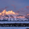 Winter Sunrise - Teton Range, Grand Teton National Park 2018